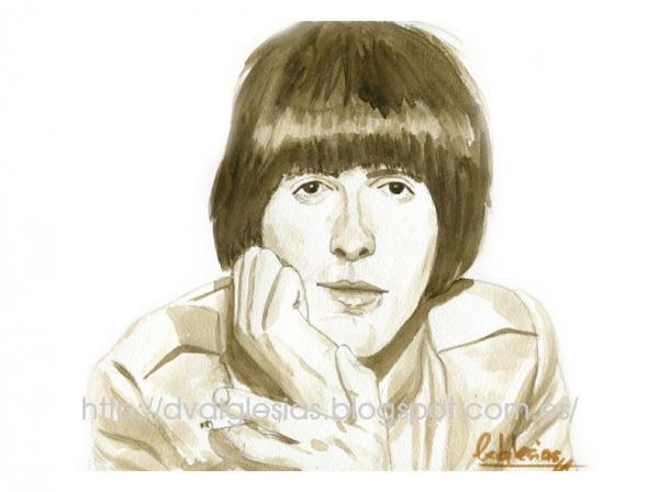 George Harrison by DIglesias